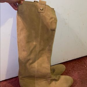 Shoes - Tan boots size 9.5